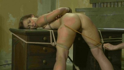 Beautiful slave tries cruel bondage