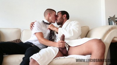 Lucio Saints, Yury Lysenko and Robbie Rojo