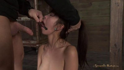 It turns out Japanese girls really do sound like Anime when you brutally fucked them in bondage!