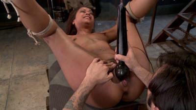 Fuckedandbound – 07-11-2014 – Vulgar Display Of Power On Ebony Slut