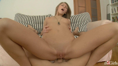 Anal With Horny Teen On Little Sofa 1