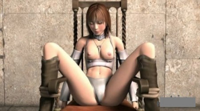 Captured & Hard Fuck Girl-Warrior 3D