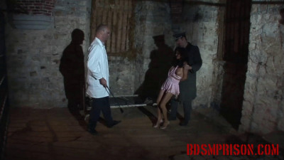 BDSMPrison - Natalia Swears Innocence as Shes Punished with a Whip