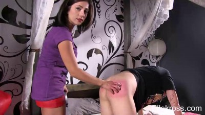 Punishing My boy's Bare Ass!