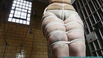 Smalltown Jail – Rinn Hogcuffed, Made To Excerise, Then Hogtied – Part 1