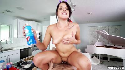 Megan Sage — Baking Cutie Rides Reverse Cowgirl (2016)