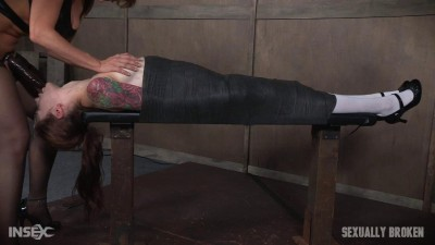 Part 2 Anna De Ville Mummified With Vibrator and Throat