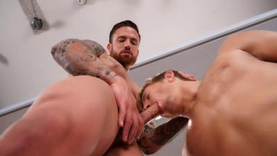 Muscle Boy Likes Hard Dick