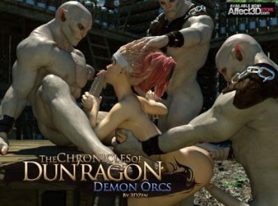 3DZen The Chronicles of Dun'ragon Demon Orcs