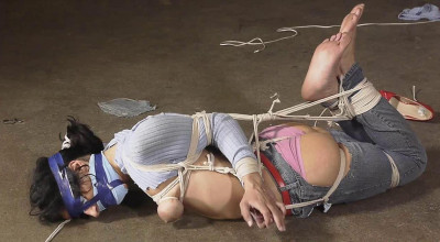 Hannah Perez Carried, Groped, Hogtied, and Gagged Multiple Times 2