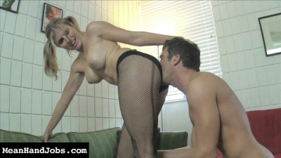 Cory Chase Office Interview Turns Brutal Ballbusting Session (2014)