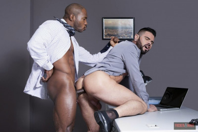 Getting Job - anal sex, sucking, big dick, tiny, black guy
