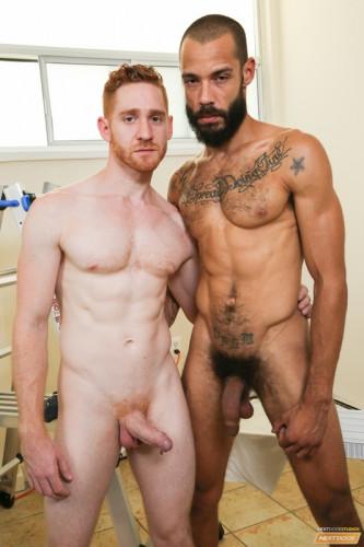 Dylan Henri and Leander