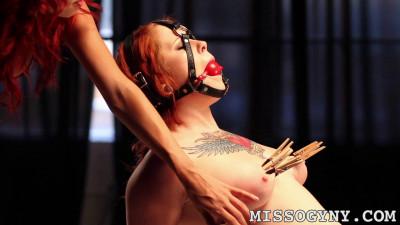 Missogyny Misti Dawn Gaged And Tourmented (2014)