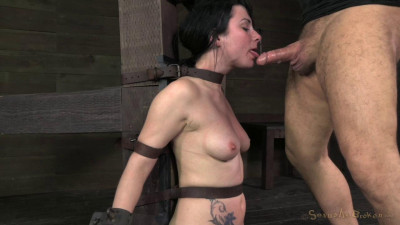 Pretty Veruca James Utterly Destroyed By Brutal Deep Throat (2014)