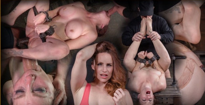 Grand finale with strict metal bondage