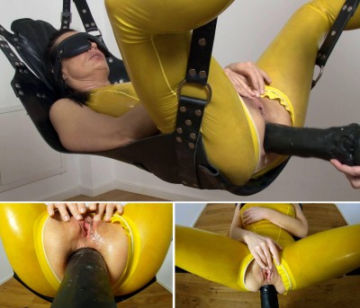 Angelina in the scne Anal Squirting Machine