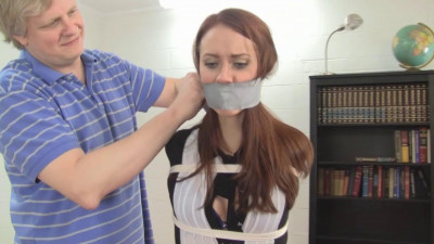 Secretaries Gagged Super Tight