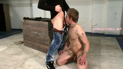 Bryan5-l – Ballgagged, Bondage, Dick And Testicles Pegged, Arse Flogged