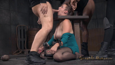 Big Breasted Bella Rossi Is Bound And Brutal Shackled Rough Sex