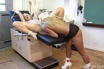 Nasty Nurse in Bondage