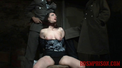 She must endure a BDSM Prison Mistress and Master, domination, humiliation, fingering, spanking, smac
