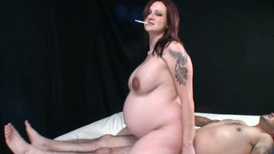Lacy King-Pregnant smoking girl  05