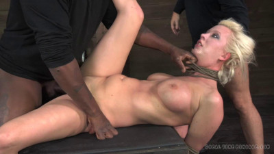 Tagteamed Cherry Torn Utterly Destroyed By Cock