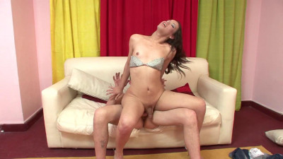 Petite young t-girl