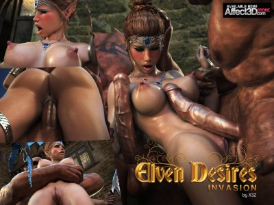 Elven Desires Invasion