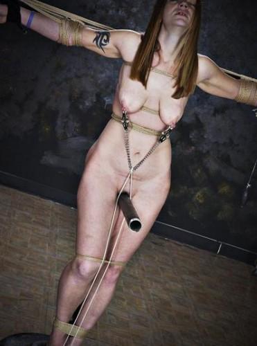 The bitch deserves pain, punishment & torture
