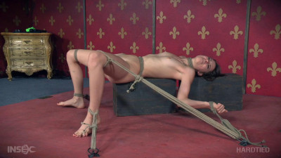 Rough Bondage For Teen Whore