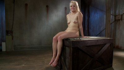 Elyssa Greene – Cute Young Blonde Overwhelmed With Bondage And Cock