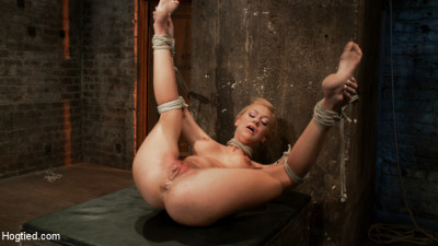 The Fuck Me Position w  Brutal Strap On Fucking