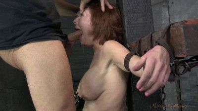 SexuallyBroken – Sep 15, 2014 – Stunning Busty MILF Veronica Avluv Does Brutal Drooling Deepthroat