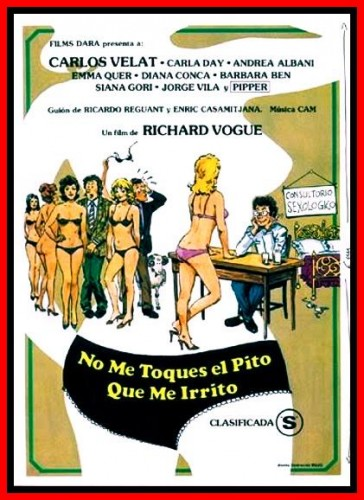 Do not touch my dick that I get irritated (1983)