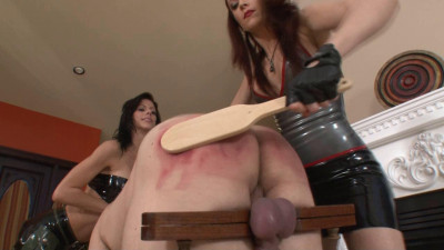 Club D Part IX - Wooden Paddle Punishment