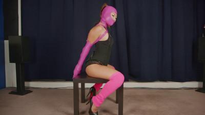 Restricted Senses – Pink Leg Warmer Hogtie