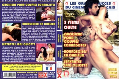 Bourgeoises en chaleur (French Gigolo) 1977 (Burd Tranbaree, Alpha France)