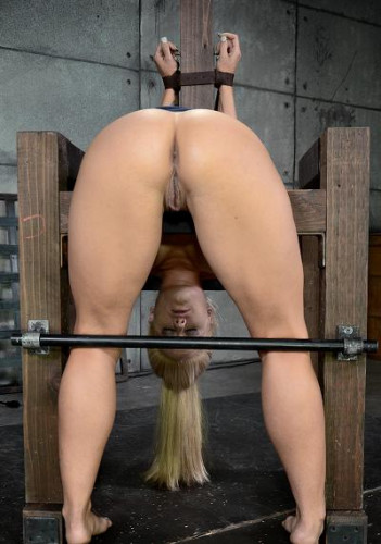Big Breasted Hot Blonde MILF Holly Heart Restrained In Strict Bondage And Fucked Hard