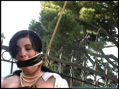 FS - Backyard Bondage Fun with Sybil - Part 2