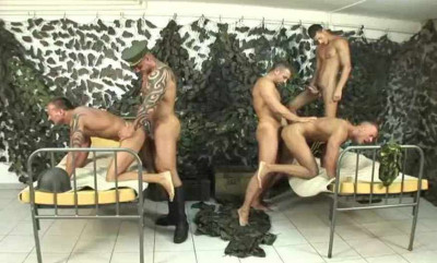 Trained Gangbang At Army