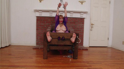BigTit Barefoot Harem Slave in Stocks Chains and Manacles – Lorelei Part 2