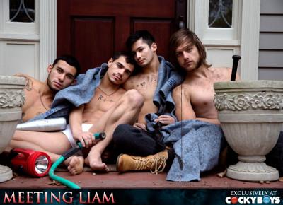 Liam Riley, Levi Karter, Ricky Roman, Tayte Hanson - Meeting Liam
