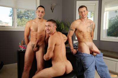 Mark Long, Andrew Fitch and Colt Rivers - Hard Training