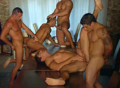 Gangbang pleasure