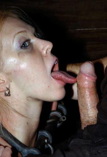 Gentle Blonde Tries BDSM