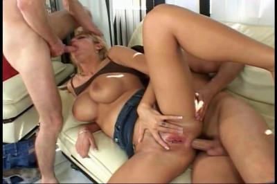 Trina Takes Intense Double Penetration