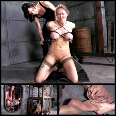 Broken Blonde # 1 (3 May 2014) Real Time Bondage
