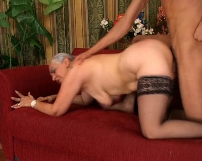Granny is naughty as hell